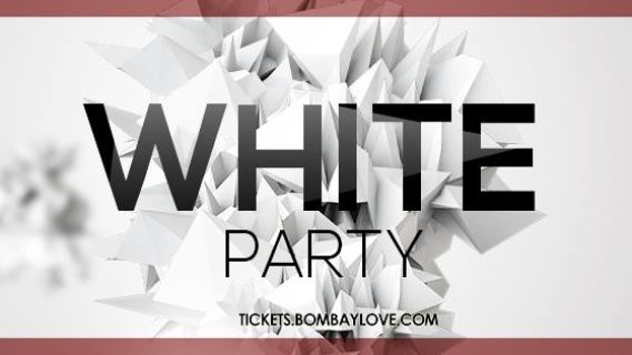 White Bollywood Party